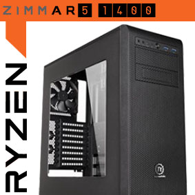 AMD RYZEN 5 1400 GAMING PC