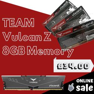 TEAM Vulcan Z 8GB Memory 3.0