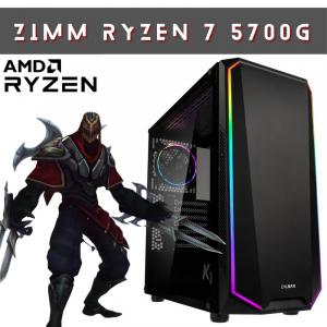 zimm ryzen 7 5700g gaming pc